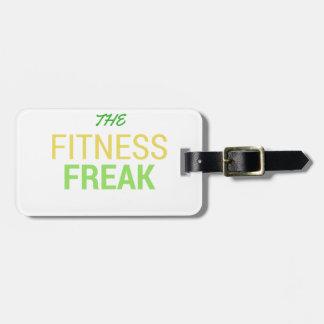 Die Fitness Freak-Zitrone Gepäckanhänger