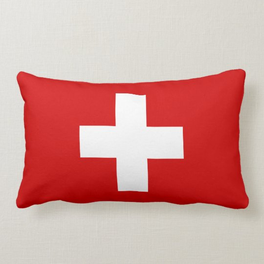 die flagge von der schweiz kissen zazzle. Black Bedroom Furniture Sets. Home Design Ideas