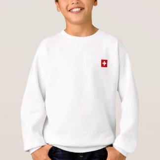 Die Flagge von der Schweiz Sweatshirt
