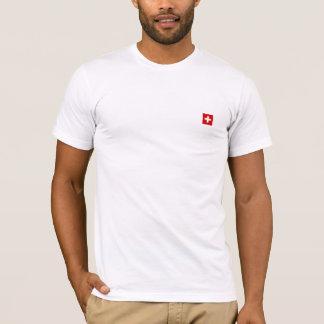Die Flagge von der Schweiz T-Shirt