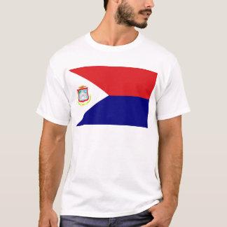 Die Flagge von St Martin T-Shirt
