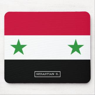 Die Flagge von Syrien Mousepad