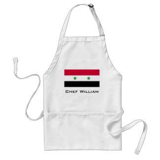 Die Flagge von Syrien Schürze