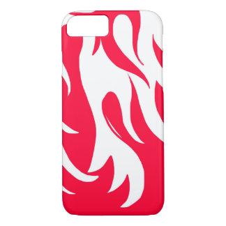 Die Flammen laufen rot iPhone 8/7 Hülle