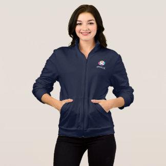 Die Fleece-Jacke der Frauen in der Marine