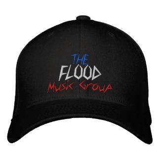 Die Flut-Musik-Gruppe - besonders angefertigt - be Besticktes Cap
