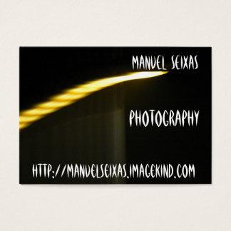 Die Fotografie Jumbo-Visitenkarten