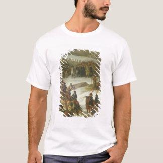 Die französische Armee, die den T-Shirt