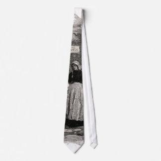 Die Frauen liefen in die Straße Personalisierte Krawatte