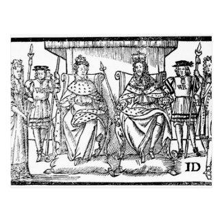Die Freude der Protestanten, am 18. April 1689 Postkarte