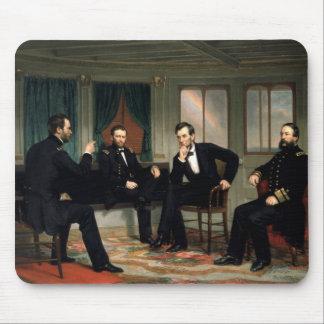 Die Friedensstifter mit Abraham Lincoln Mousepad