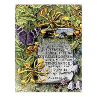 Die Frucht des Geistes Postkarte