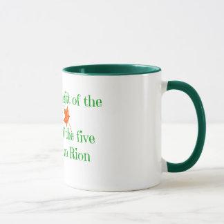 Die fünf Richtungen Tasse