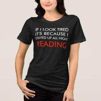Die ganze Nacht gelesen T-Shirt