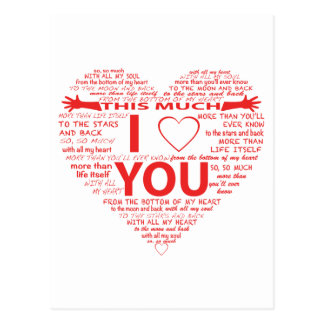 Die ganze Weisen I Liebe Sie Postkarte