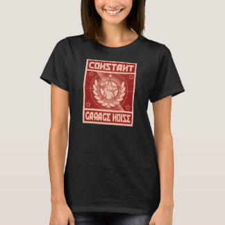 Die Garagen-Geräusch-Shirt der Frauen konstantes T-Shirt