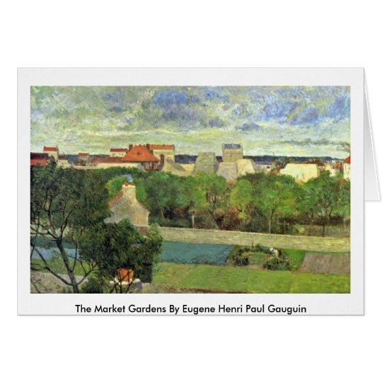 Die Gartenbaubetriebe durch Eugene Henri Paul Karte