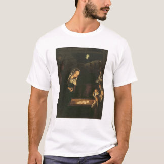 Die Geburt Christi nachts T-Shirt