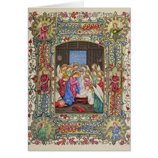 Die Geburt Christi unseres Lords Grußkarte