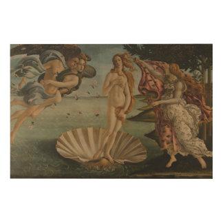 Die Geburt von Venus Holzdruck