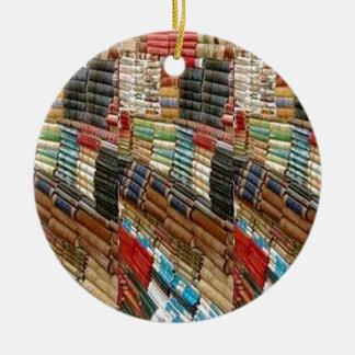 Die gelesene BÜCHER Bücherwurm-Bibliothek lernen Rundes Keramik Ornament