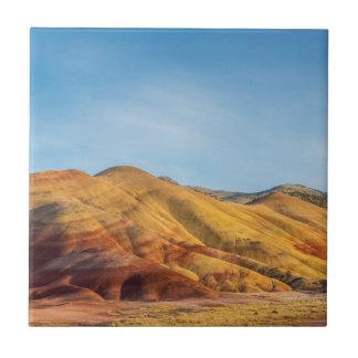 Die gemalten Hügel in den John-Tagesfossil-Betten Keramikfliese