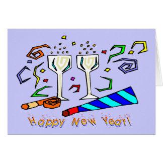 Die Geräusch-Hersteller des neuen Jahres Karte