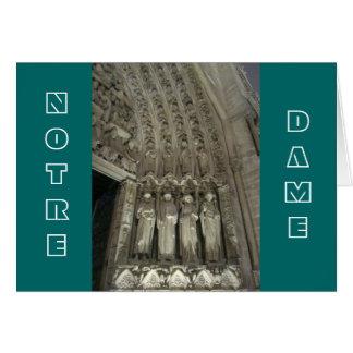 Die Gesetzesvorschriften von Notre Dame Karte