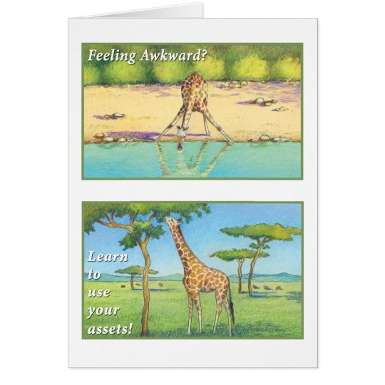 Die Giraffe - markieren Sie 9:23 Karte