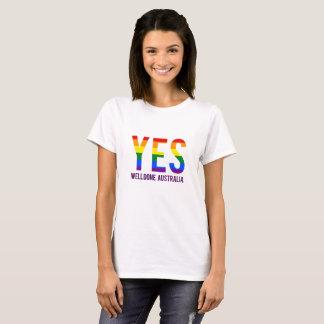 Die gleiche Geschlechts-Heirat Australien T-Shirt