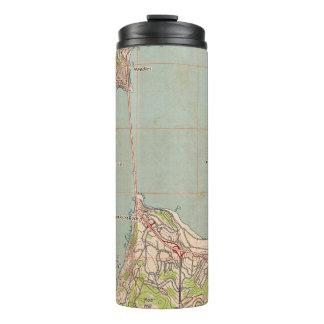 Die Golden Gate-topographische Karte Thermosbecher