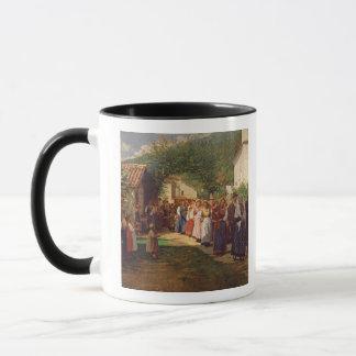 Die goldene Hochzeit (Öl auf Leinwand) Tasse