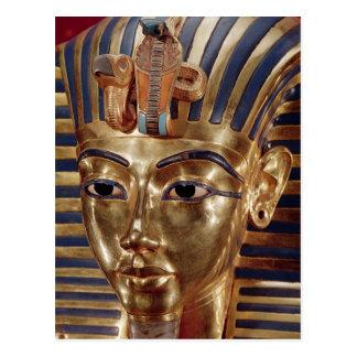 Die Goldmaske, vom Schatz von Postkarte