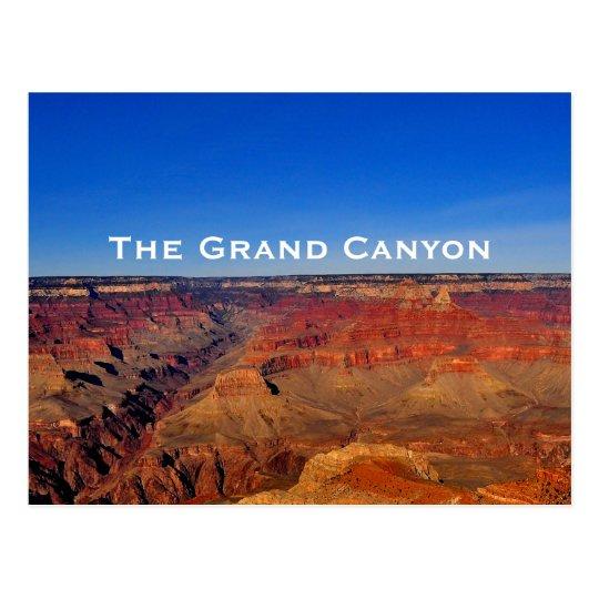 Die Grand- Canyonpostkarte Postkarte