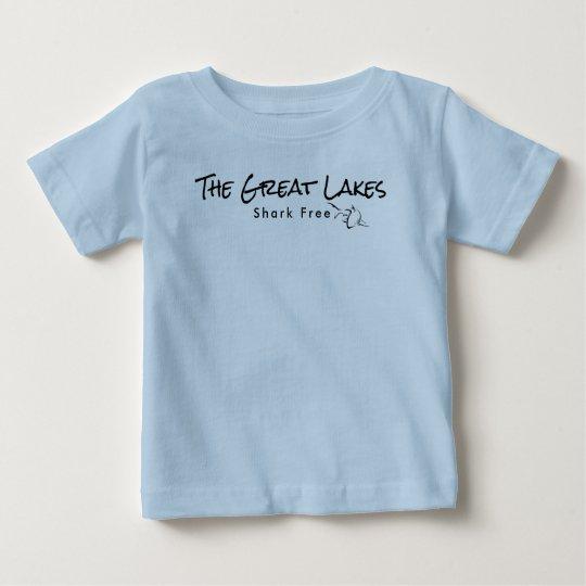 Die Great Lakes - Haifisch geben frei Baby T-shirt