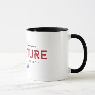 Die große amerikanische Abenteuer-Tasse Tasse
