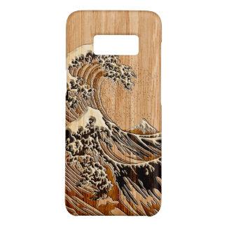 Die große Hokusai Wellen-hölzerne Case-Mate Samsung Galaxy S8 Hülle