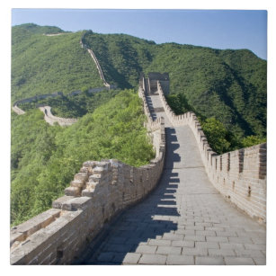 Die große Wand der China in Peking, China Fliese