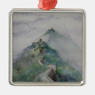 Die große Wand der China Silbernes Ornament