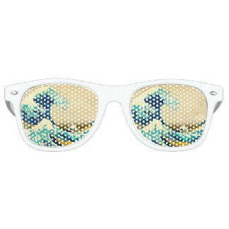 Die große Welle Retro Sonnenbrillen