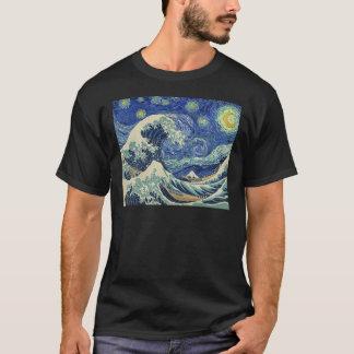 Die große Welle weg von Kanagawa - die T-Shirt