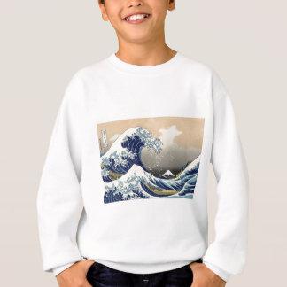 Die große Welle weg von Kanagawa Sweatshirt
