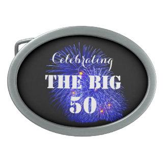 Die GROSSEN 50 feiern - Ovale Gürtelschnallen