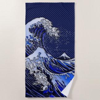 Die großen Hokusai Strandtuch