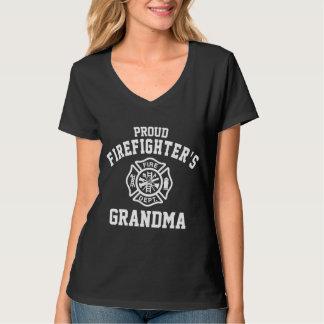 Die Großmutter des stolzen Feuerwehrmanns T-Shirt