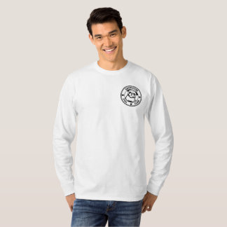 Die grundlegende lange Hülse der Männer T-Shirt