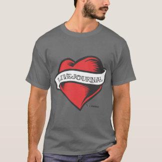 Die grundlegenden t der Männer (LiveJournal T-Shirt