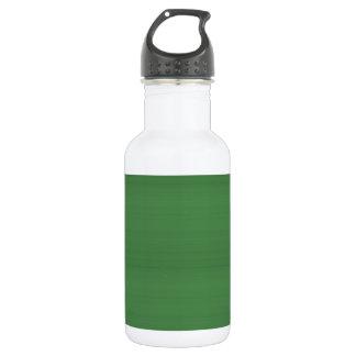 Die GRÜNE einfache Beschaffenheits-Schablone DIY Edelstahlflasche