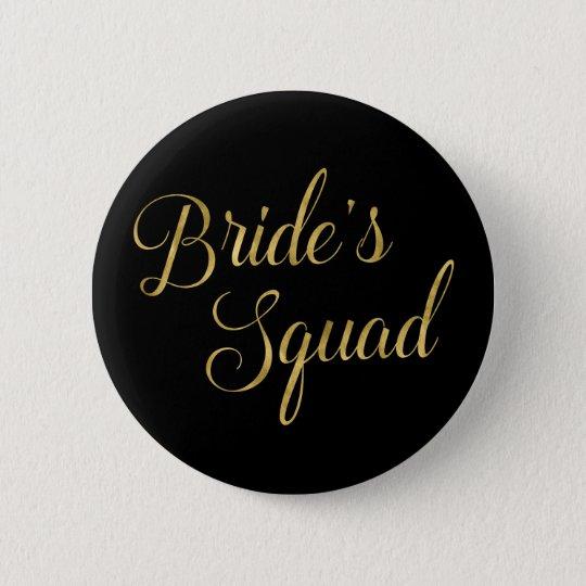 Die Gruppe der Junggeselinnen-Abschieds-Braut Runder Button 5,7 Cm