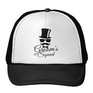 Die Gruppe des Bräutigams Baseball Cap